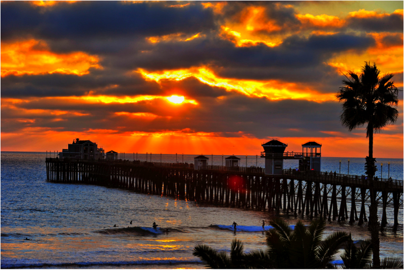 Oceanside real estate and oceanside pier