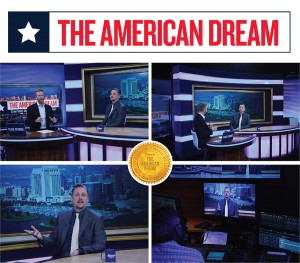 "Rancho Santa Fe, Carlsbad and Encinitas Real Estate professional Michael Gaddis, J.D. during his June 27, 2015 appearance on ""The American Dream""."