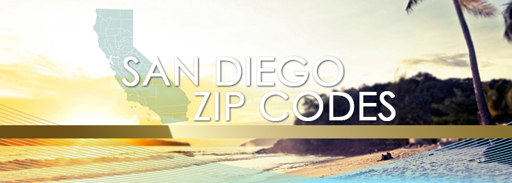 san diego zip codes